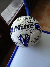 BALLON FOOTBALL RAEC MONS JUPILER LEAGUE BELGIQUE SIGNE MITRE 2000/2001