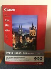 Papier Photo Satiné A3+ Canon SG-201 - 20 feuilles - Semi Gloss