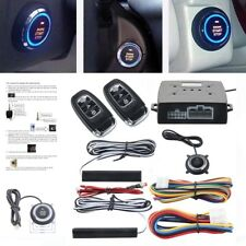 Hot! Car Alarm System Passive Keyless Entry Push Button Remote Engine Start/Stop