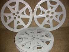 FOUR- 2000ft  16mm Plastic reels - NEW -