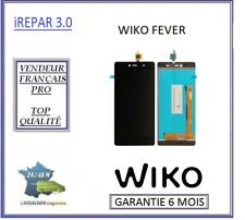 Ecran lcd origine + vitre tactile wiko fever noir
