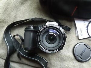 Nikon Coolpix B500 With Case, Manual, Strap and Lens cap
