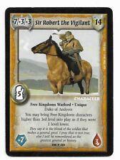 Warlord CCG - Warlord Saga of the Storm: Sir Robert the V. => Rare NOV UNIQUE !