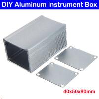 Aluminium Gehäuse Box Platinen Sicherheit Elektronik Netzteil Montage 80x50x40mm