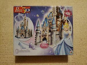 Disney Princess Puzz3D Cinderella Castle Foam Puzzle (400 pieces) - New & Sealed