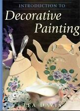 Introduction To Decorative Painting Book - Lea Davis - 12 Designs - 80 Pages