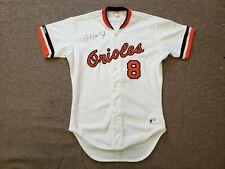 Cal Ripken Jr. Autographed #8 Baltimore Orioles Jersey - JSA