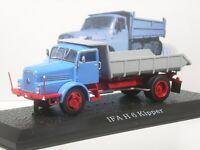 Klasse: Atlas IFA H6 Kipper rot/blau DDR Modell in 1:43 in  OVP