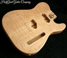 Telecaster Body / Flame Maple / Alder / Neck Humbucker / Tele Guitar Body