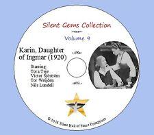 "DVD ""Karin, Daughter of Ingmar"" (1920) Victor Sjöström, Swedish Silent Drama"