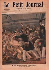 Revolte Anarchistes Anarchie Bateau Bagne de Cayenne Guyane 1894 ILLUSTRATION