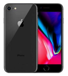 APPLE IPHONE 8 64GB SPACE GRAY (BLACK) VERIZON UNLOCKED A1863 CDMA GSM