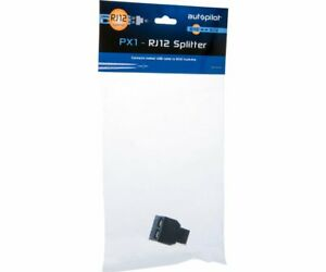 Autopilot RJ12 Splitter Connects Ballast USB Cable to RJ12 Trunk-Line Black