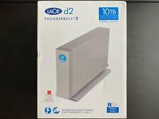 LaCie d2 Thunderbolt 3 USB-C Desktop External Hard Drive 10TB STFY10000400