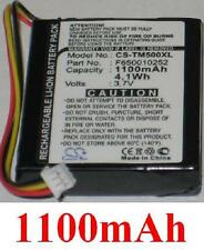 Batterie 1100mAh type F650010252 F709070710  Pour TOMTOM One Version 3