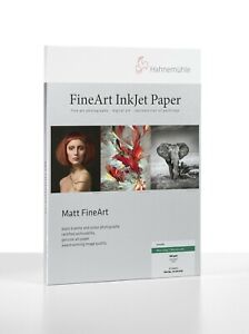 Hahnemuhle Photo Rag Ultra Smooth 305gsm  A4  25 Sheets