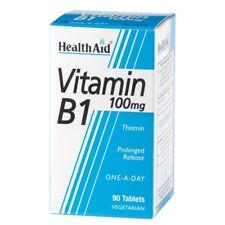 Healthaid Vitamin B1 100mg 90 Vegetarian Tablets