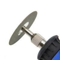60mm Diamond Cutting Disc Set & Drill Bit For Rotary Metal Q3J0 Tool Glass D3K5