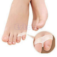 Gel 2 Holes Pinky Toe Orthotics Separator Tail Toe Straightener Separator 1 Pair