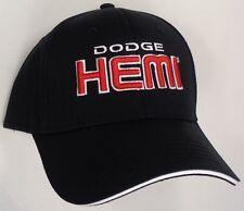 Hat Cap Dodge Black Hemi Challenger Charger Magnum H175