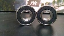 (Qty 2) 6205-2RS C3 Electric Motor Quality Premium Ball Bearing 25x52x15