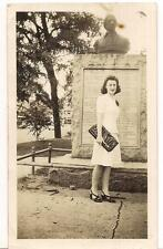 Lovely Woman By Samuel Hammond Bust Statue AUGUSTA GEORGIA Vintage 1940s Photo