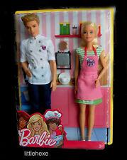 Barbie & Ken Cafe Geschenkset  2- Puppen -Set  FHP64 NEU/OVP