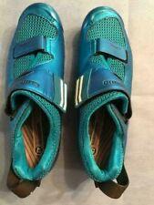 Shimano SH-TR9 Men's Triathlon Cycling Shoes Blue Size 42 (US 8.3)