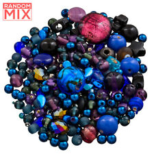 Glass Acrylic Metal Beads Mix Space Galaxy (100g)
