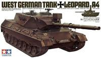 Maqueta de Tanque Aleman West German Leopard A4 Kit para montar 1/35 de Tamiya