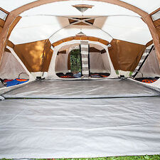 skandika Nimbus 12 Person XL Family Tent 4 Sleeping Cabins 2 Entrances