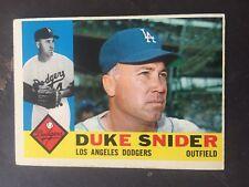 DUKE SNIDER 1960 TOPPS BASEBALL #493