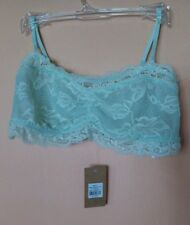 STREETWEAR  SOCIETY ESSENTIALS LACE  BRALETTE  GREEN SIZE S. NEW WITH TAGS