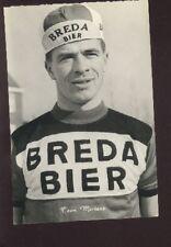 TOON MERTENS Cyclisme cp 60s BREDA BIER ciclismo Cycling wielrennen wielersport