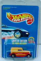 Hot Wheels Malt-O-Meal Limited Edition 32 Ford Delivery 1993 MOC