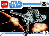 LEGO - STAR WARS -  - 7680 - INSTRUCTIONS!