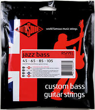 ROTOSOUND RS77EL MONEL FLATWOUND BASS STRINGS, EXTRA LONG SCALE 4's - 45-105