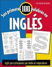 Sus Primeras 100 Palabras en Ingles by Jane Wightwick (2003, Paperback)