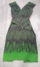 Samantha Sung Dress Stella with Belt size 4 NWT