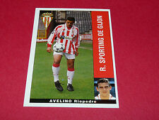 AVELINO RIOPEDRE R. SPORTING GIJON PANINI LIGA 95-96 ESPANA 1995-1996 FOOTBALL