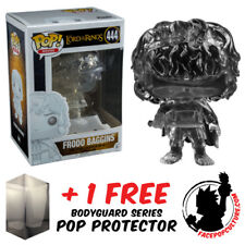 FUNKO POP LORD OF RINGS FRODO BAGGINS INVISIBLE EXCLUSIVE + FREE POP PROTECTOR