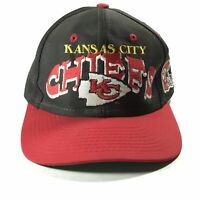 VTG KANSAS CITY CHIEFS LOGO NFL EMBROIDERED SNAPBACK FOOTBALL BASEBALL HAT CAP