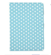 """iPad 9.7"""" case screen protector(comes with black) polka dots stand case"""