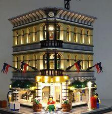 New LED Light Kit for Lego 10211 Grand Emporium set usb powered bricklite