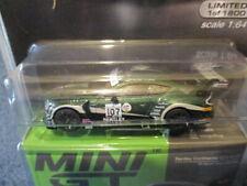 TSM MINI GT, 2021 M&J TOYS MIJO EXCLUSIVES, BENTLEY CONTINENTAL GT3 #107. #208