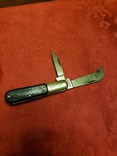Prov Cutlery Co Barlow Hawkbill Two Blade -Look