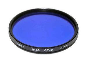 Regent 80A Filter Made in Japan 62mm Glass Filter