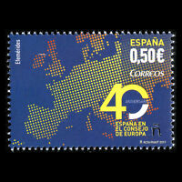 Spain 2017 - Anniversary of Spain as Member of the Council of Europe - MNH