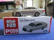 Tomica Taito Prize Half Size P059 Toyota Crown Athlete Silver HO Scale 1:87