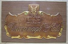 Orig Old CAVANAGH HATS Store Display Adv Sign Park Ave at 47th St New York